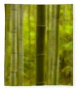 Mystical Bamboo Fleece Blanket