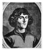 Nicolaus Copernicus Fleece Blanket
