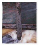 Old Mill Canal Fleece Blanket
