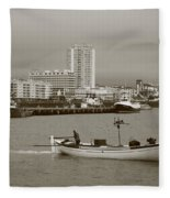 Ponta Delgada Fleece Blanket
