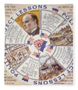Presidential Campaign, 1896 Fleece Blanket