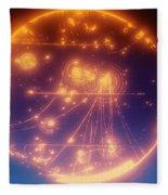 Proton-photon Collision Fleece Blanket