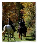 Riding Soldiers Fleece Blanket