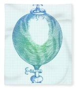 Robert Boyles Air Pumps Fleece Blanket