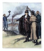 Robert Fulton (1765-1815) Fleece Blanket