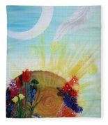 Seeds Fleece Blanket