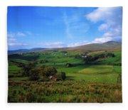 Sperrin Mountains, Co Tyrone, Ireland Fleece Blanket