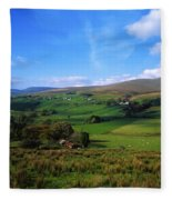 Sperrin Mountains, Co Tyrone, Ireland Fleece Blanket