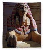Sphinx Fleece Blanket