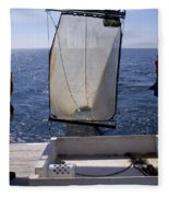 Trawling For Marine Life Fleece Blanket