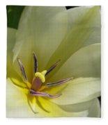 Tulip Named Perles De Printemp Fleece Blanket