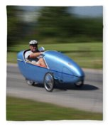 Velomobile Fleece Blanket