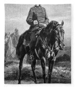 William I Of Prussia Fleece Blanket