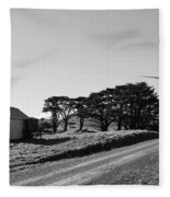 Wind Turbine Fleece Blanket