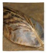 Zebra Mussel Fleece Blanket
