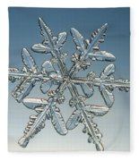 Snowflake Fleece Blanket
