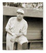 George H. Ruth (1895-1948) Fleece Blanket