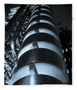 Lloyd's Building London  Fleece Blanket