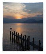 Lake Maggiore Fleece Blanket
