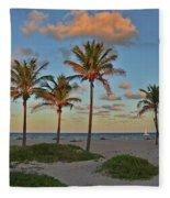 39- Evening In Paradise Fleece Blanket