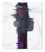 3d Club Hammer Fleece Blanket