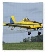 Airplane Fleece Blanket