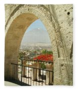 Arequipa Peru Fleece Blanket