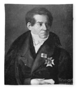 August Von Schlegel Fleece Blanket