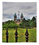Buffalo Psychiatric Center Fleece Blanket