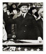 Calvin Coolidge (1872-1933) Fleece Blanket
