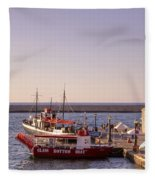 Chania - Crete Fleece Blanket