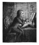 Charles Lamb (1775-1834) Fleece Blanket