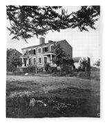 Civil War: Fredericksburg Fleece Blanket