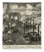 Civil War: Vicksburg, 1863 Fleece Blanket
