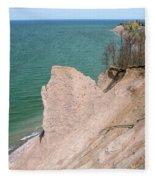 Coastal Erosion Fleece Blanket