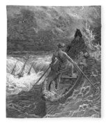 Coleridge: Ancient Mariner Fleece Blanket