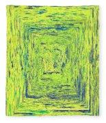 Coloristic Abstracts From Varikallio At Hossa Fleece Blanket
