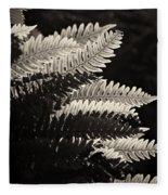 Common Polypody Fleece Blanket