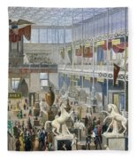 Crystal Palace, 1851 Fleece Blanket