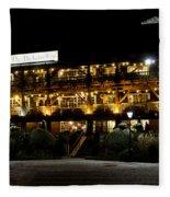 Dickens Inn Pub St Katherines Dock London Fleece Blanket