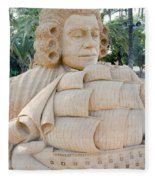 Fairytale Sand Sculpture  Fleece Blanket