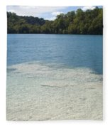 Freshwater Reef Fleece Blanket