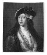Horace Walpole (1717-1797) Fleece Blanket