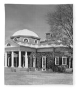 Jefferson: Monticello Fleece Blanket