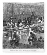 Kansas: Black Exodus, 1879 Fleece Blanket