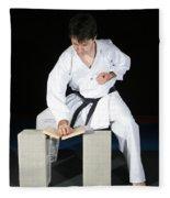 Karate Fleece Blanket