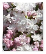 Lilac Named Beauty Of Moscow Fleece Blanket