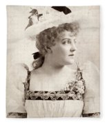 Lillian Russell (1861-1922) Fleece Blanket
