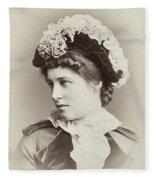 Lillie Langtry (1852-1929) Fleece Blanket