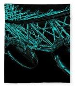 London Eye Digital Image Fleece Blanket